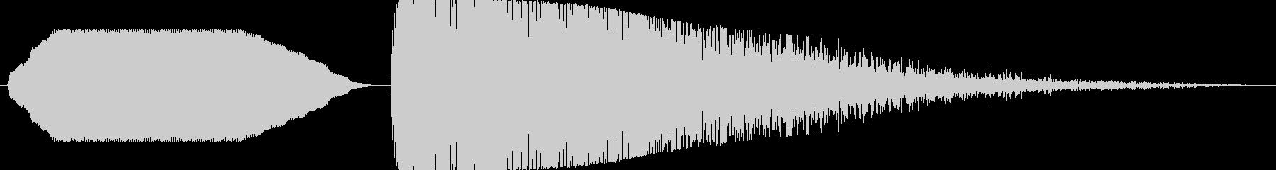 ヒューン……ドカーン!【バズーカ砲2】 の未再生の波形