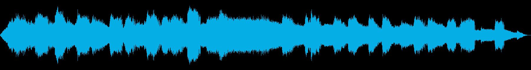 【自然音】蝉(ヒグラシ)の鳴き声02の再生済みの波形