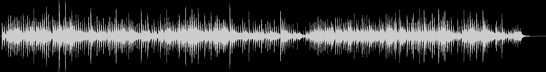 ほのぼのとしたオルゴールのBGMの未再生の波形
