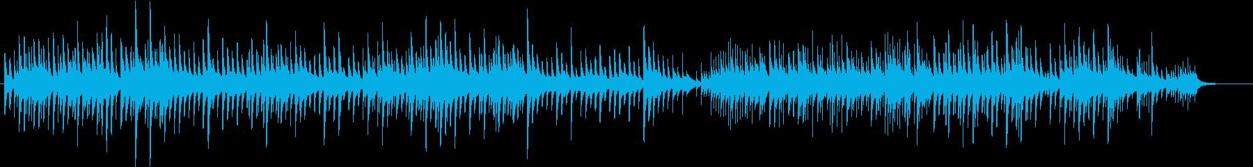 ほのぼのとしたオルゴールのBGMの再生済みの波形