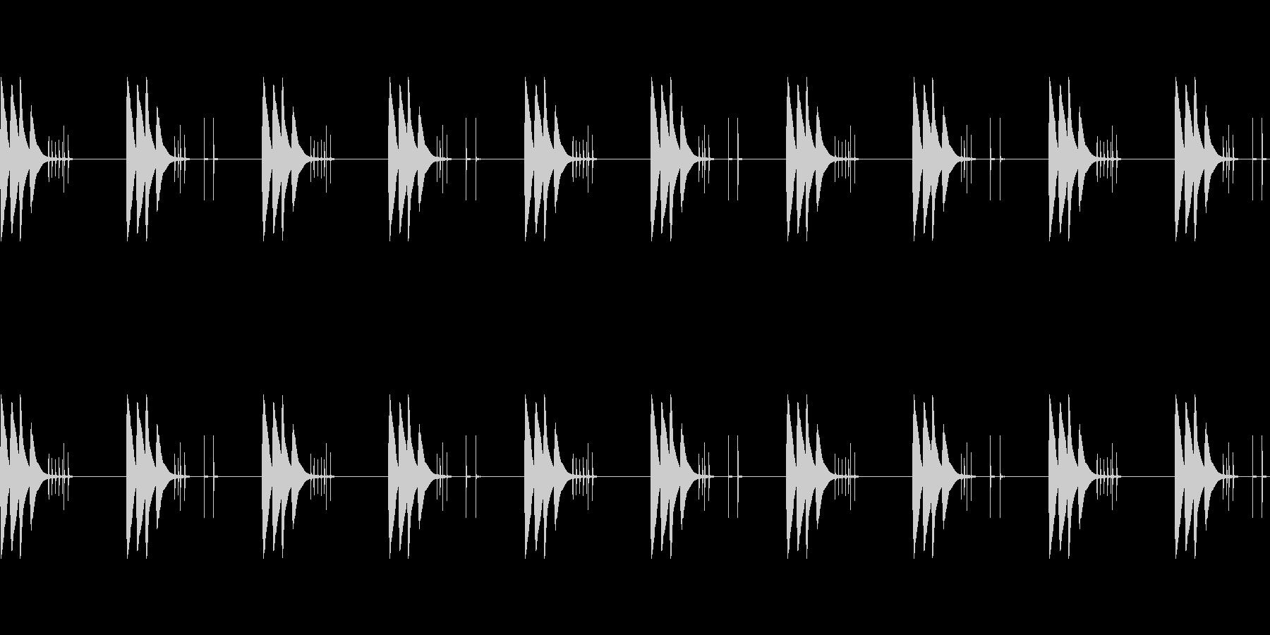 【着信音・着メロ】軽快・可愛い・シンプルの未再生の波形