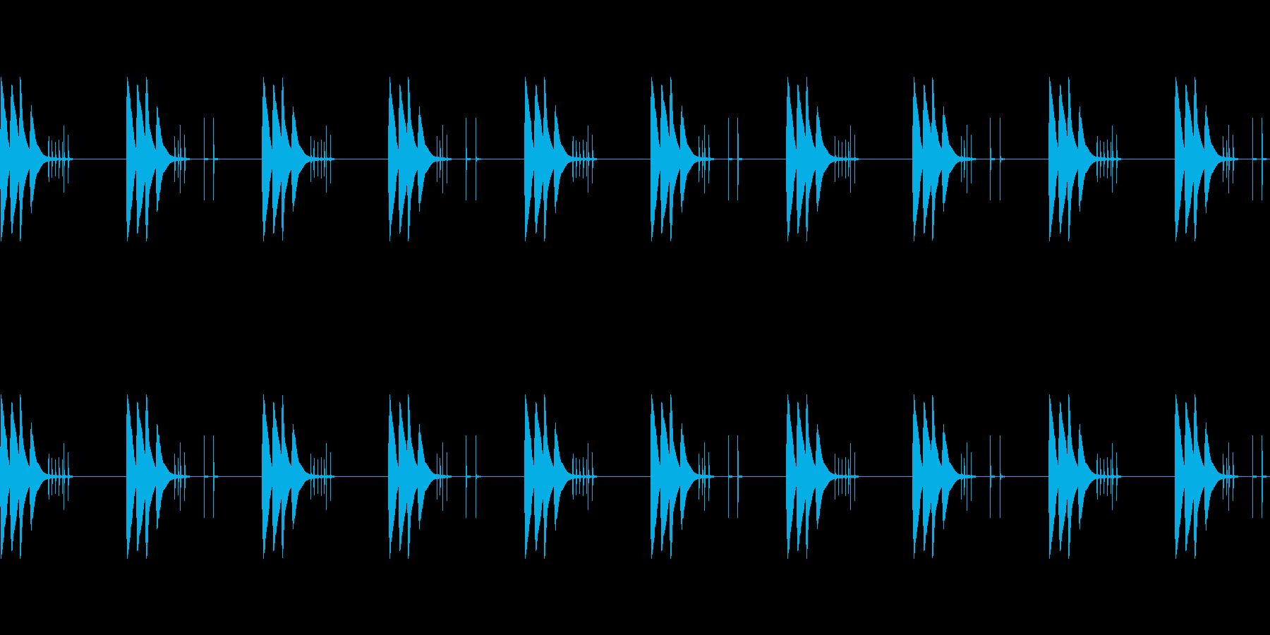 【着信音・着メロ】軽快・可愛い・シンプルの再生済みの波形