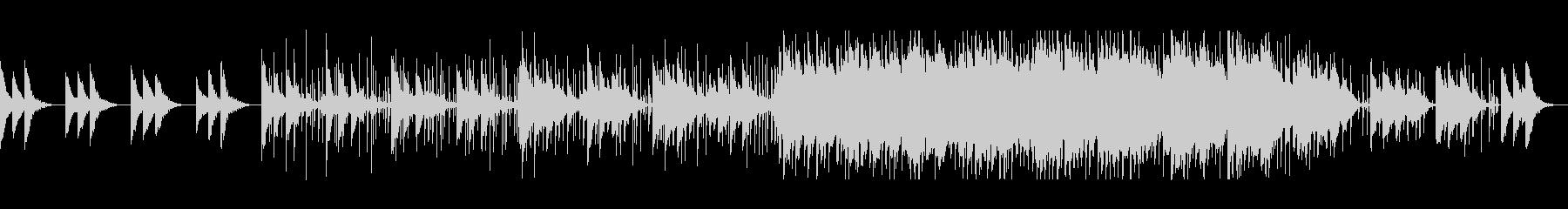 涼しげ可愛いシンセサイザーサウンドの未再生の波形