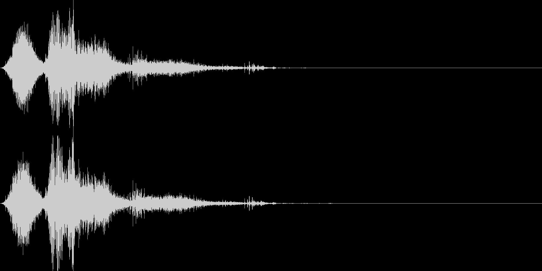 斬撃音(刀や剣で斬る/刺す効果音)16cの未再生の波形