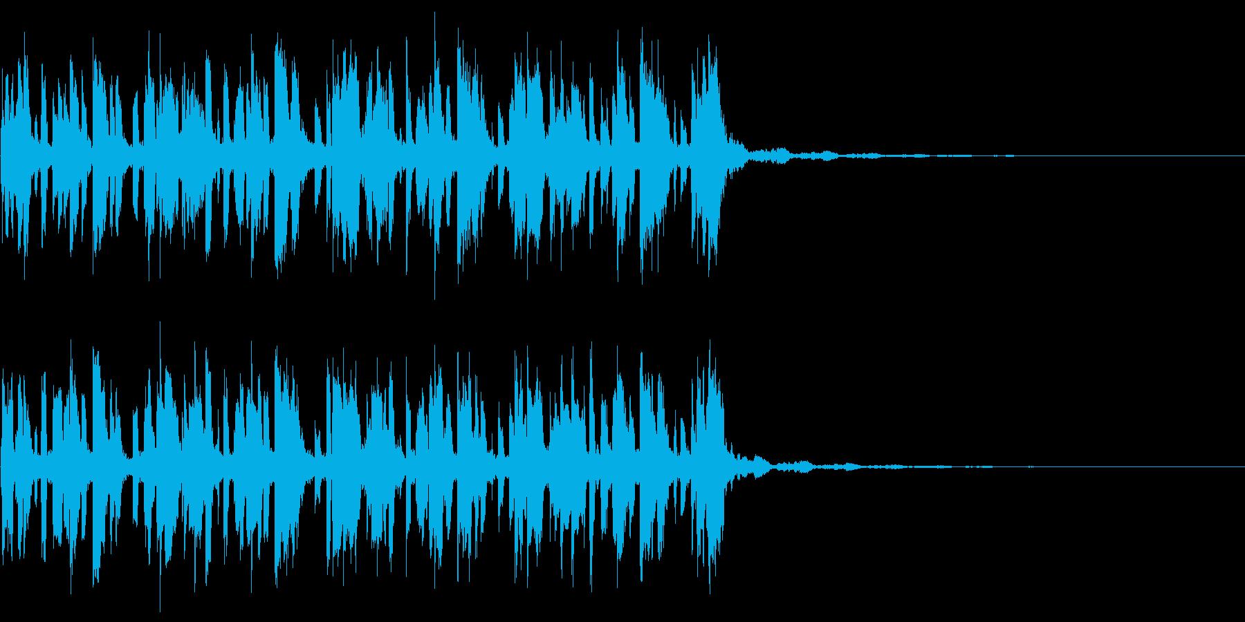 ループとしてゲーム・映像などあらゆるシ…の再生済みの波形