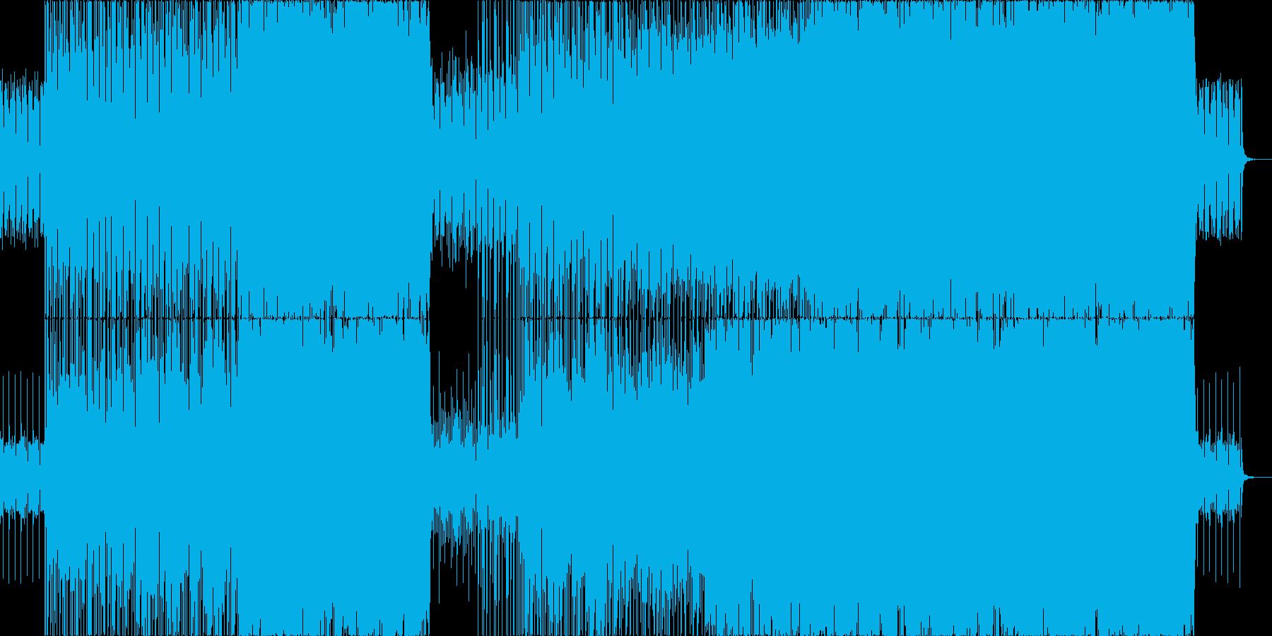 爽やかでポジティブなポップロックの再生済みの波形