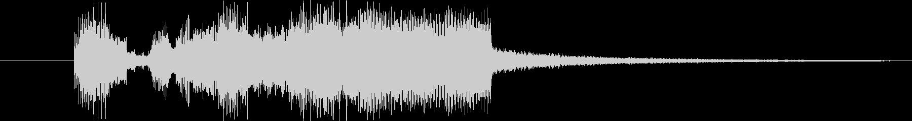 ギター(ディストーション)音の、ゲーム…の未再生の波形