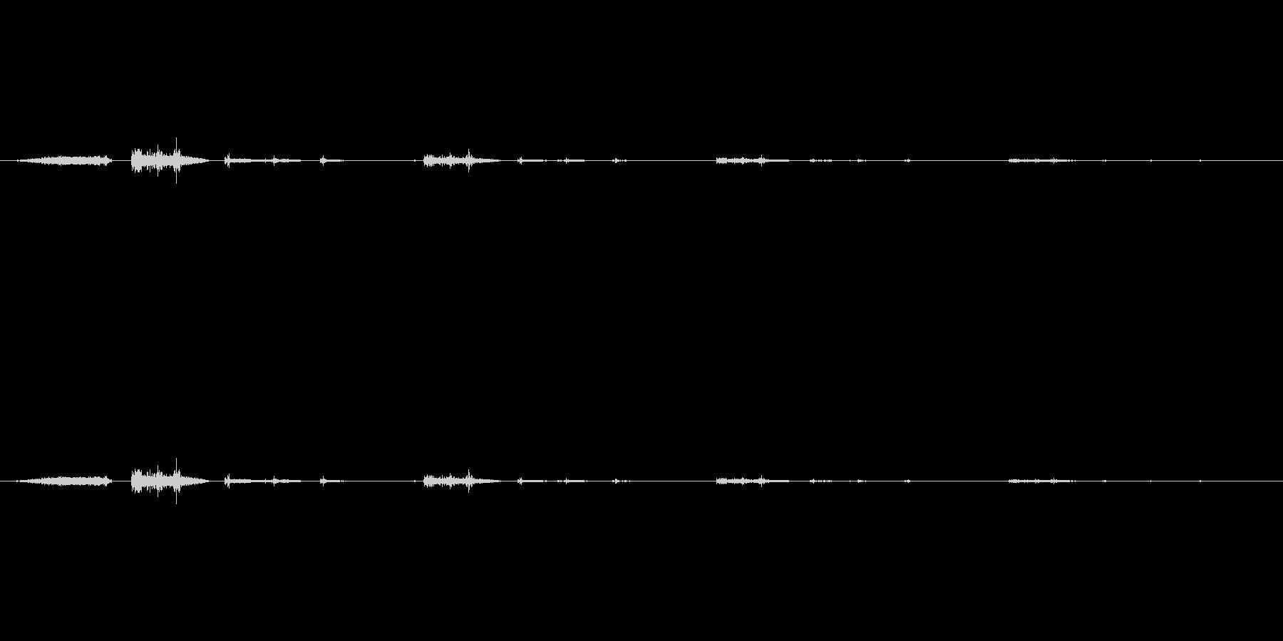 スーックウィクククの未再生の波形