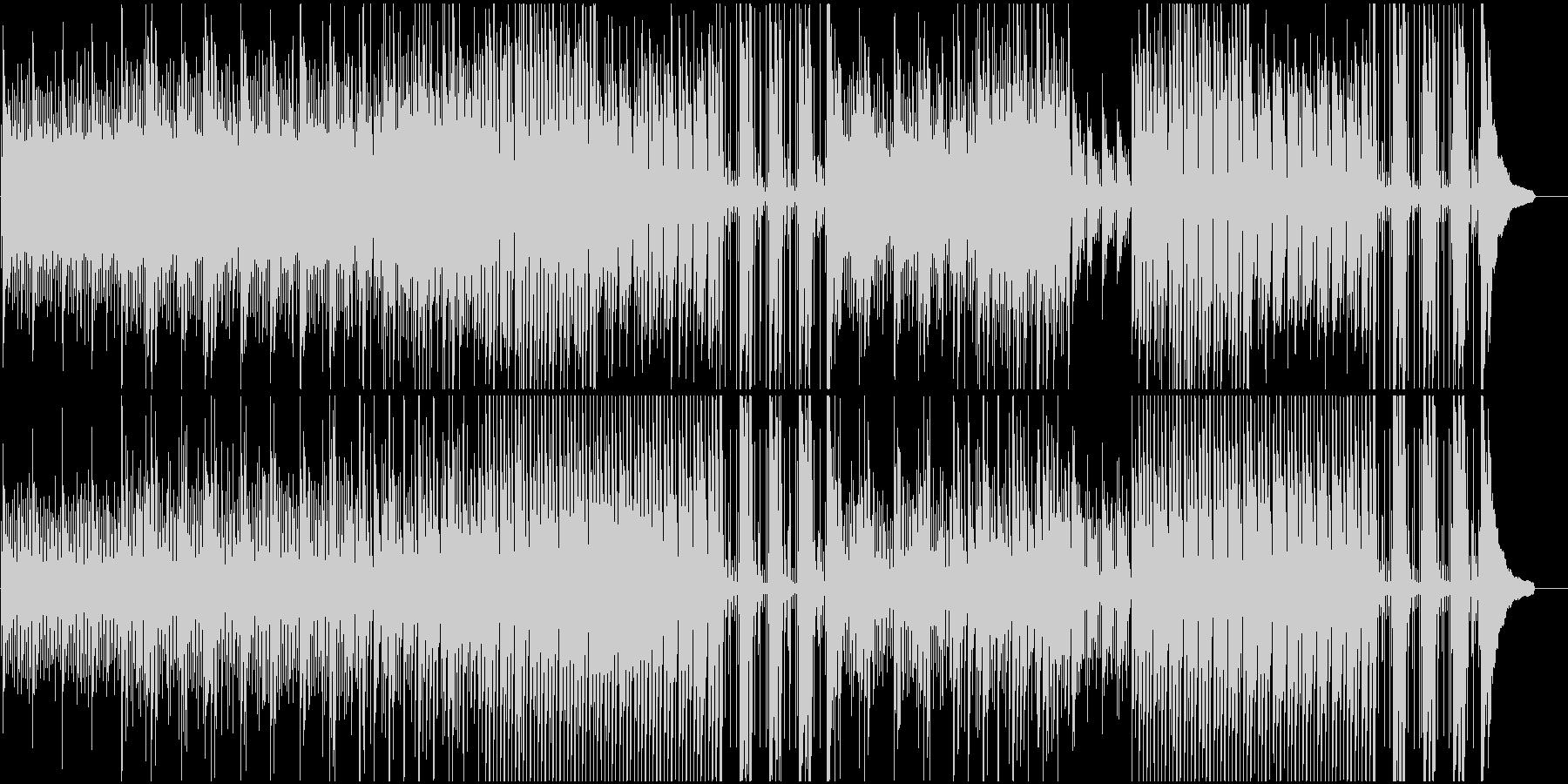 企業VPや映像に美しく感動的ピアノジャズの未再生の波形
