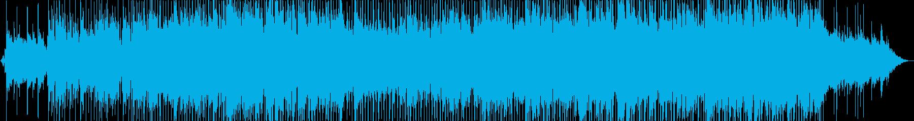 ほのぼのとした哀愁感あるフォークバラードの再生済みの波形