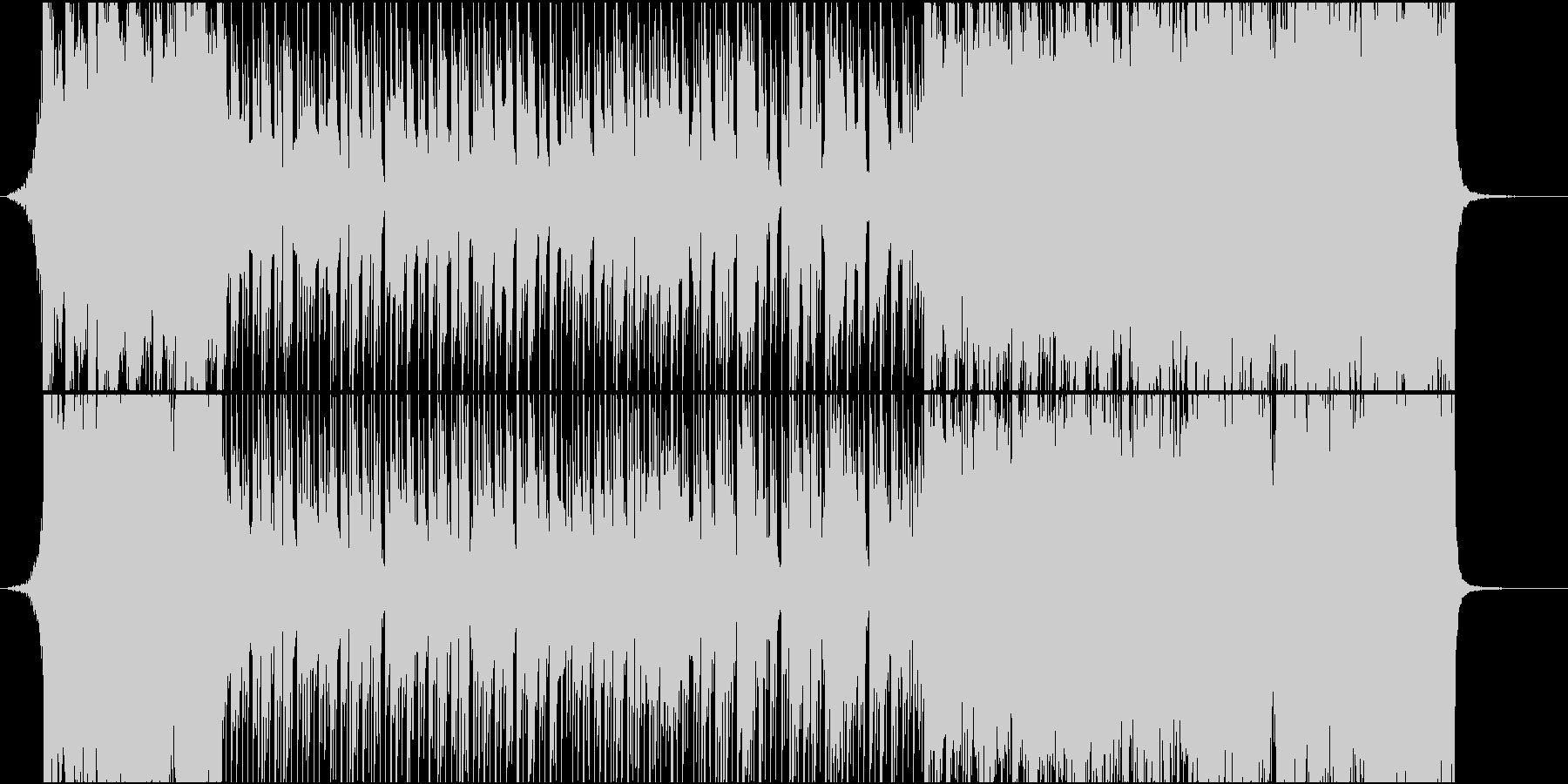 80年代初期のアニメOP風BGMの未再生の波形
