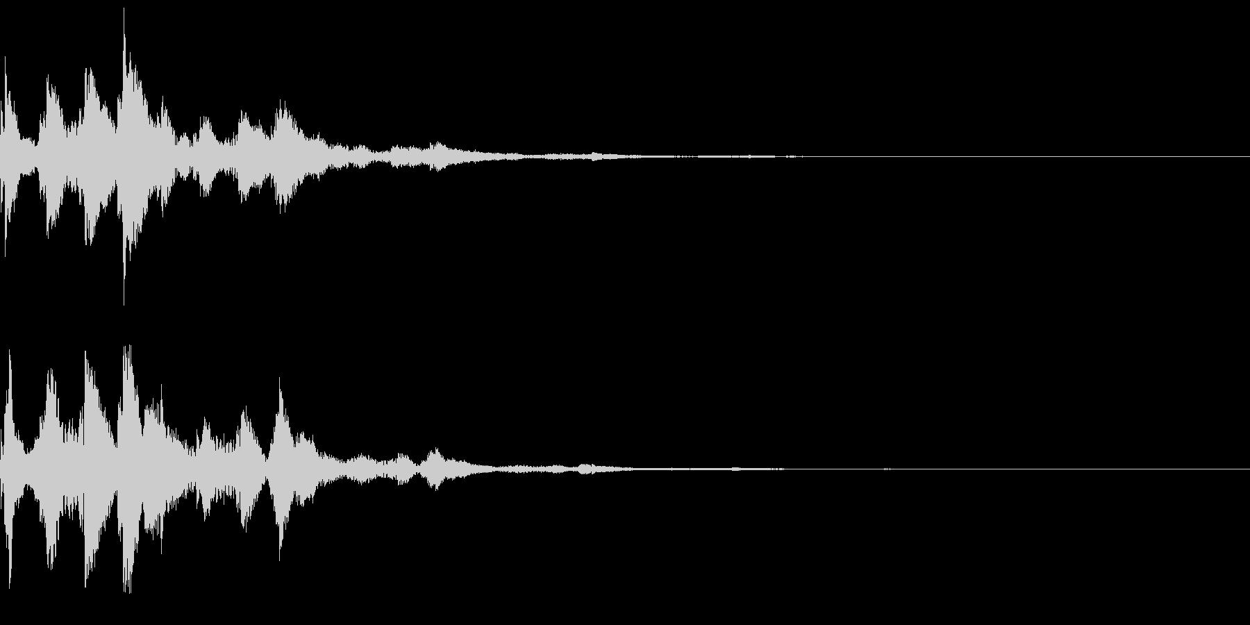 システム音44_シンセCIの未再生の波形