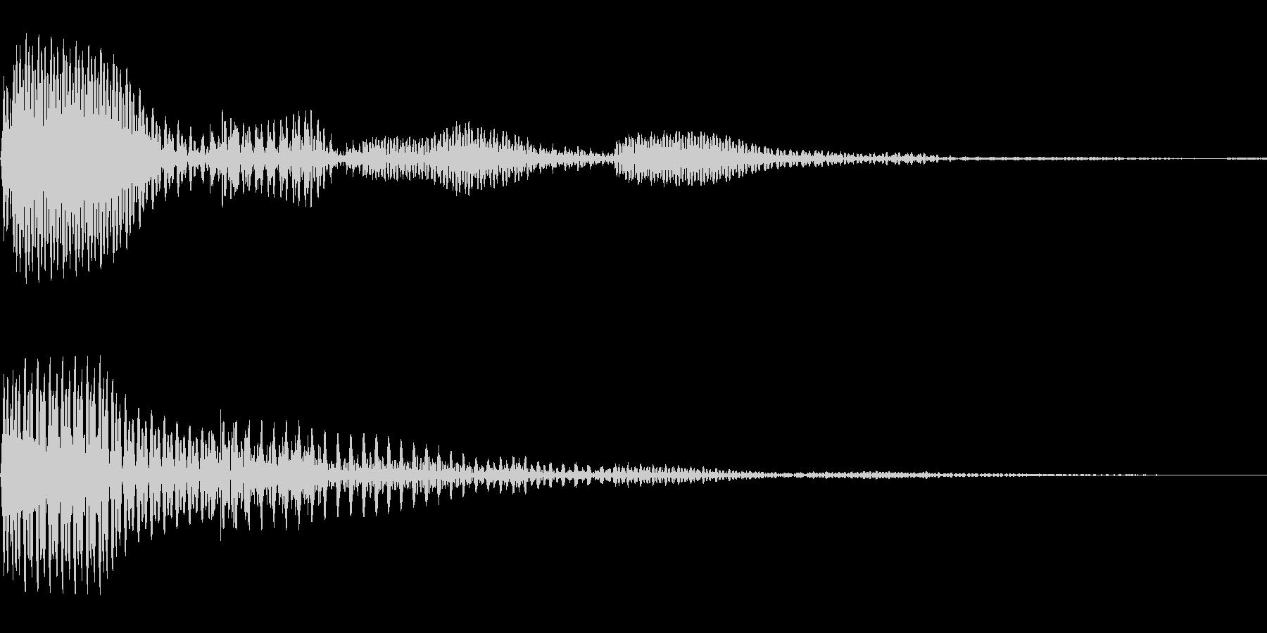 プコン(01_クリック_01)の未再生の波形