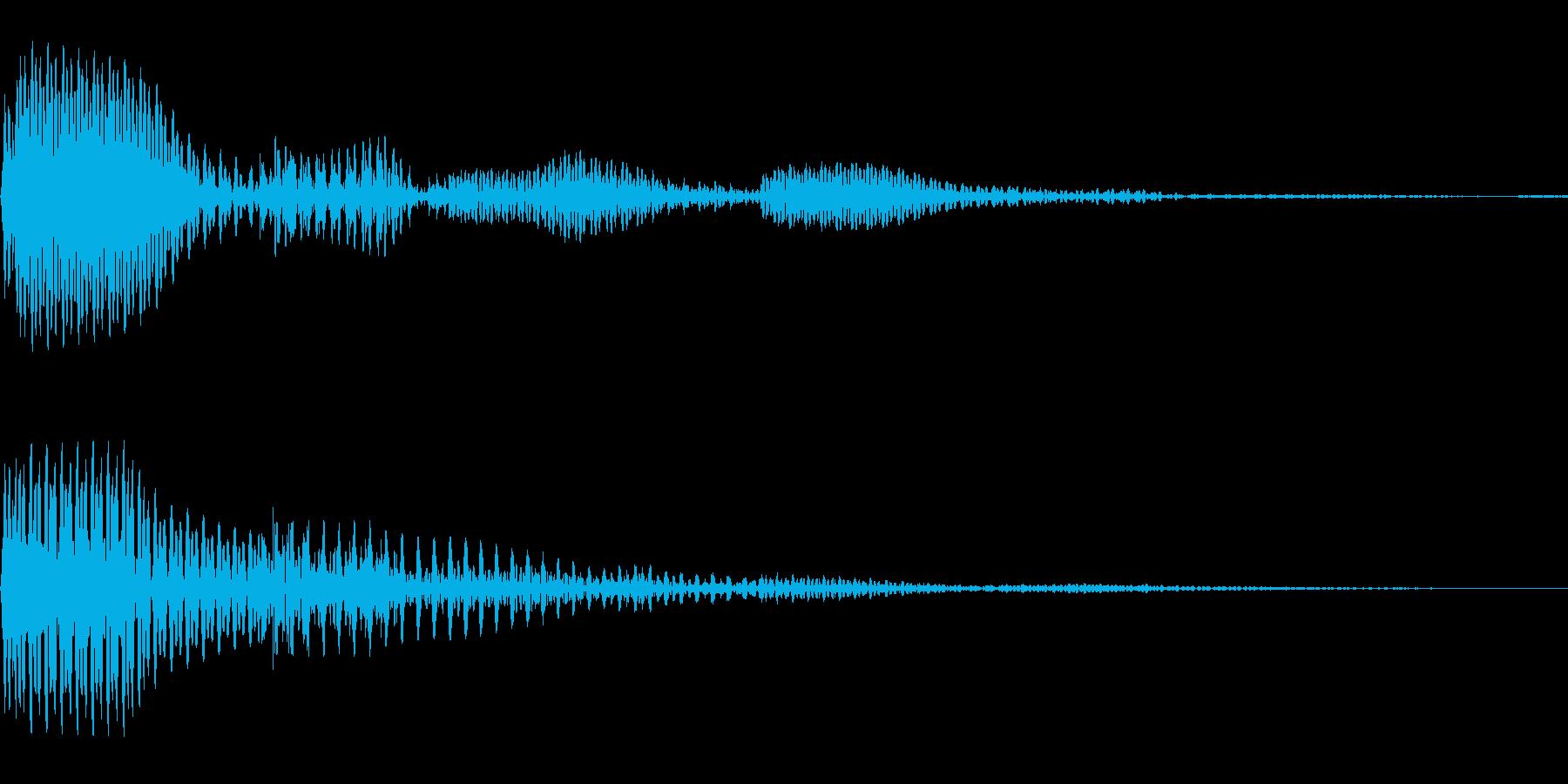 プコン(01_クリック_01)の再生済みの波形