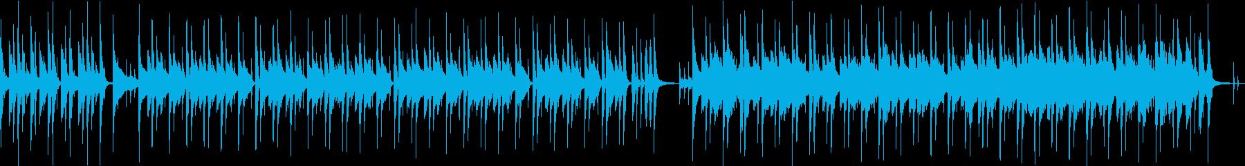 【ループ】落ち着いたボサノバ【料理・夏】の再生済みの波形