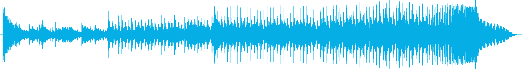 EDM オープニング ジングル スポーツの再生済みの波形