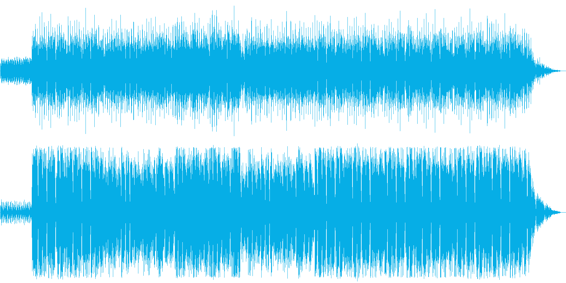 X'masを待っている気持ち、わくわく!の再生済みの波形