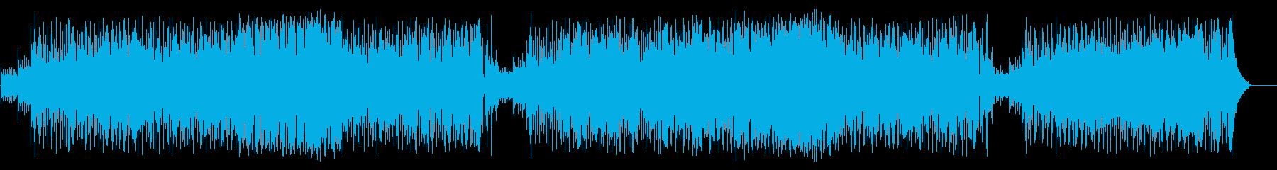 企画PR向け爽やかポップ(フルサイズ)の再生済みの波形