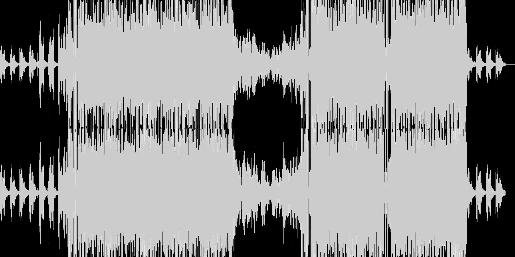 雰囲気のあるヒップホップですの未再生の波形