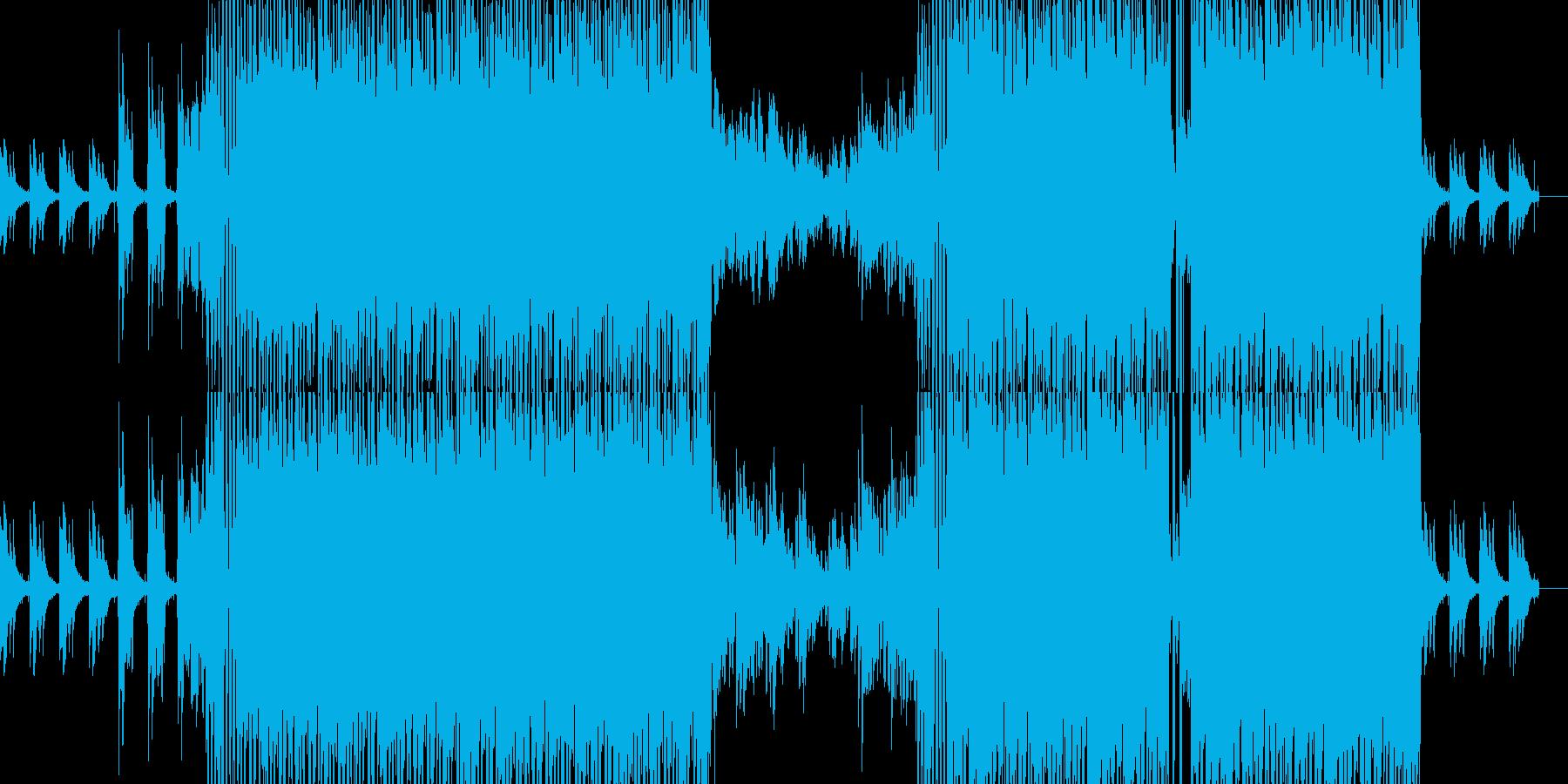 雰囲気のあるヒップホップですの再生済みの波形