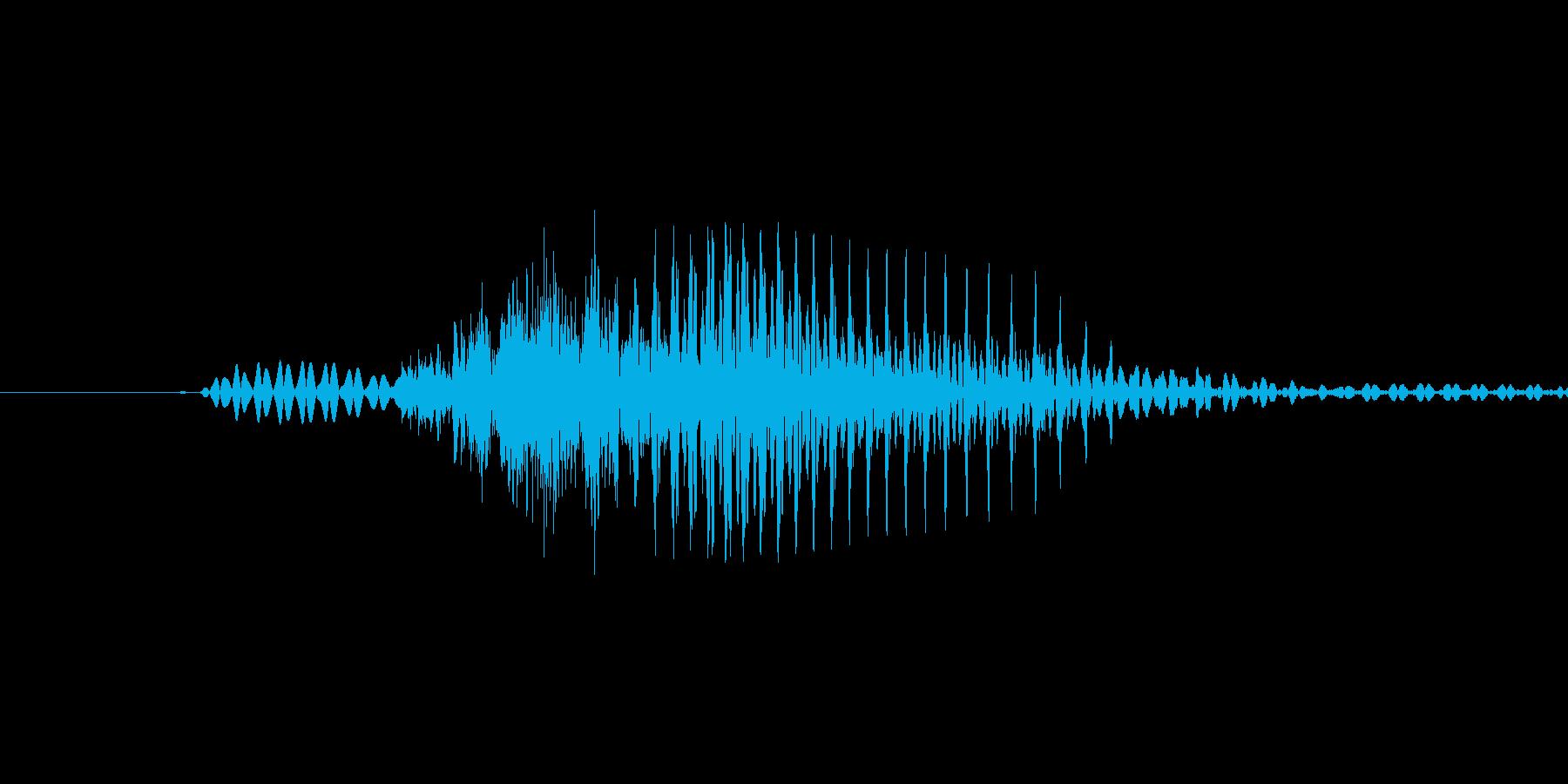 「June」英語発音の再生済みの波形