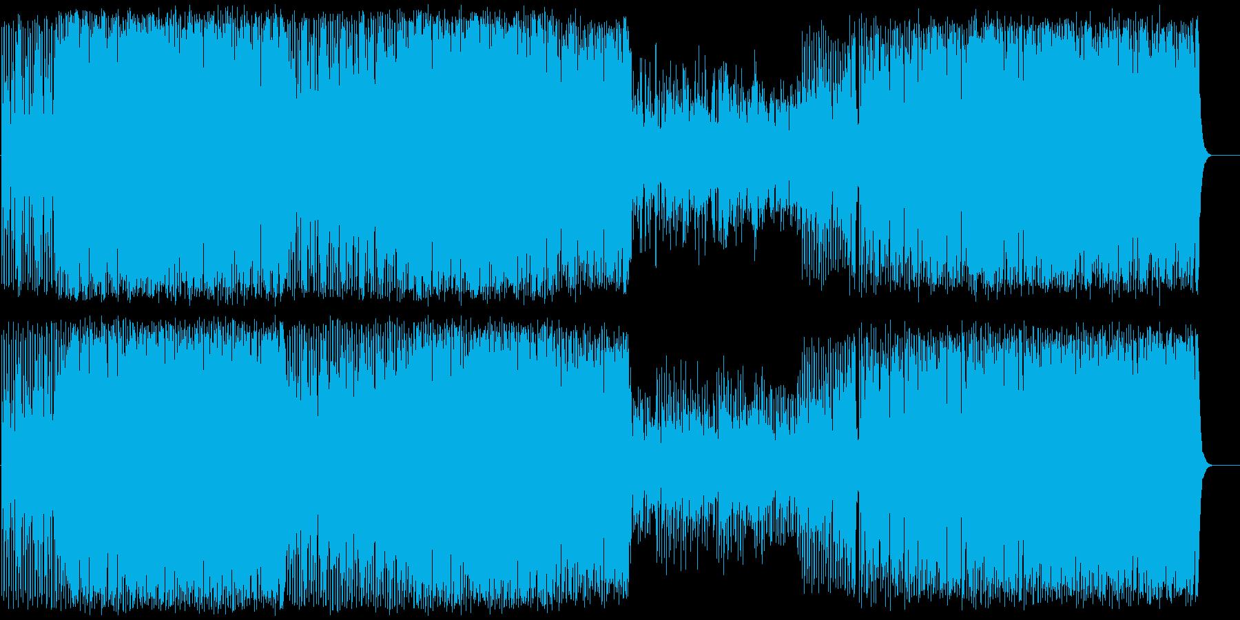 軽快で上品な雰囲気のオーケストラポップの再生済みの波形