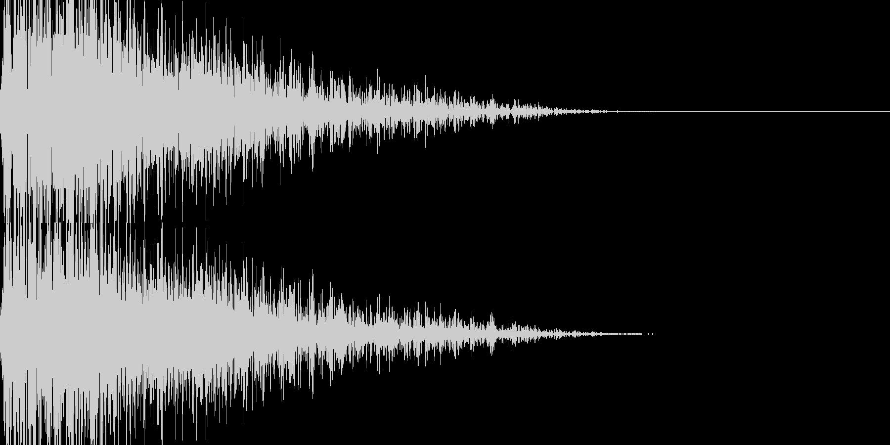ドカーン・汎用性の高い近距離爆発の未再生の波形