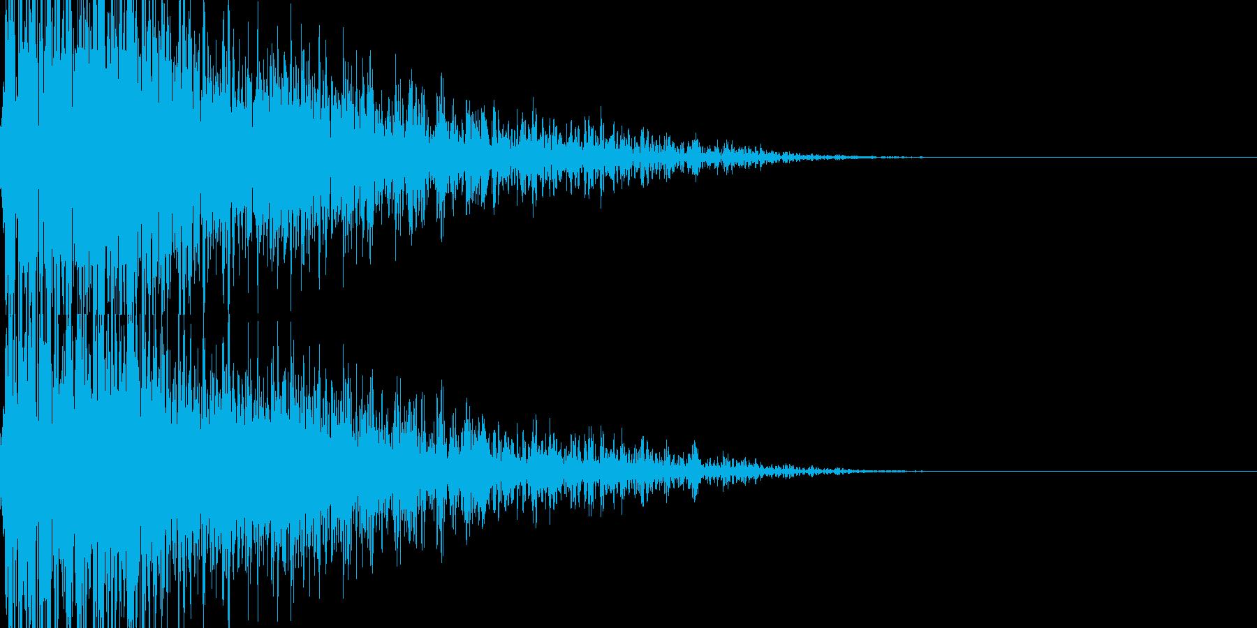 ドカーン・汎用性の高い近距離爆発の再生済みの波形