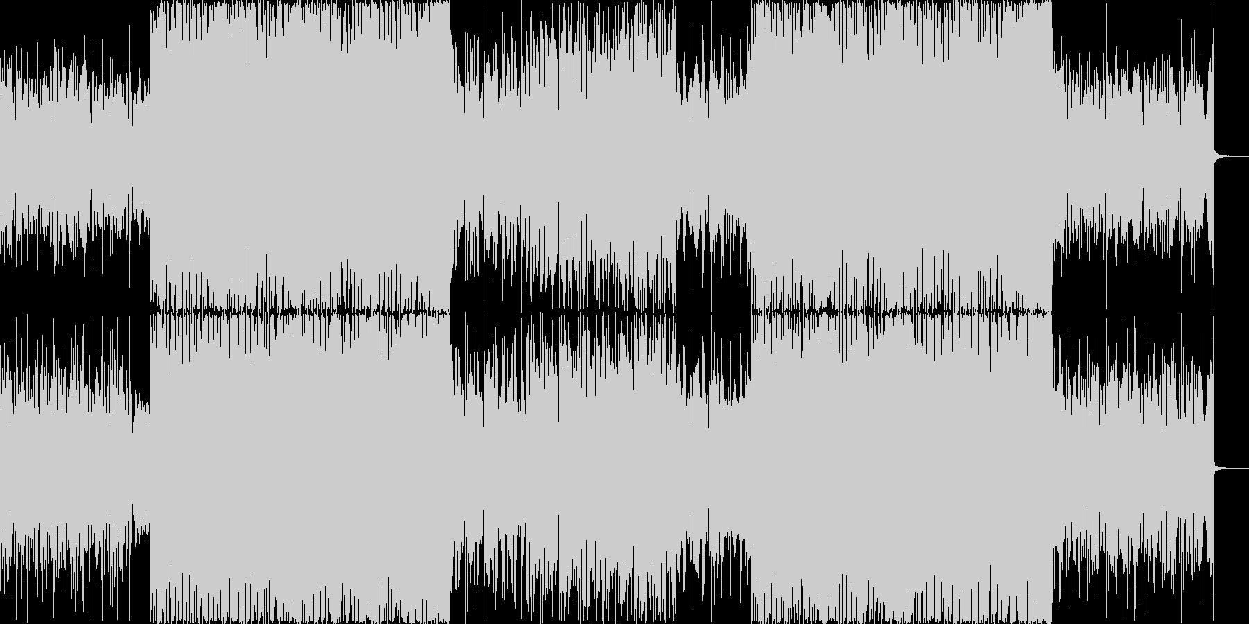 パーティーチューンなトロピカルハウス#1の未再生の波形