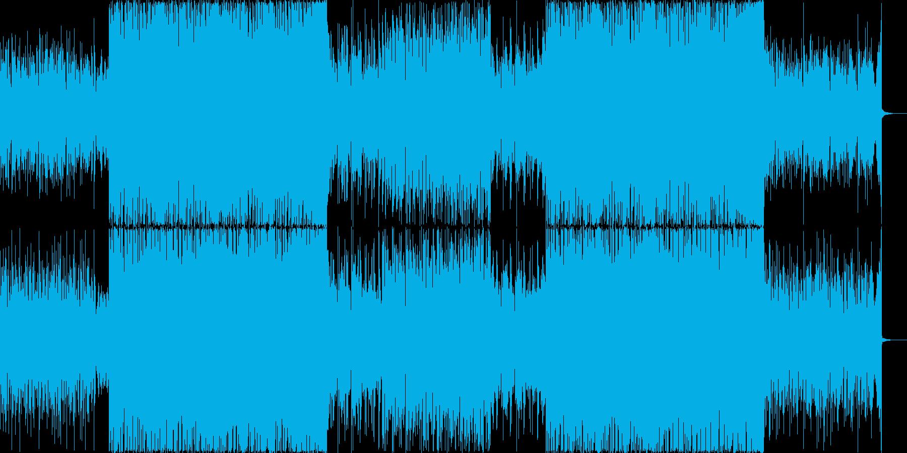 パーティーチューンなトロピカルハウス#1の再生済みの波形