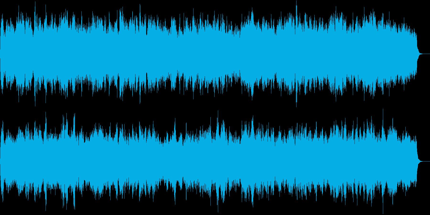 RPGのお城風のクラシカルなBGMの再生済みの波形