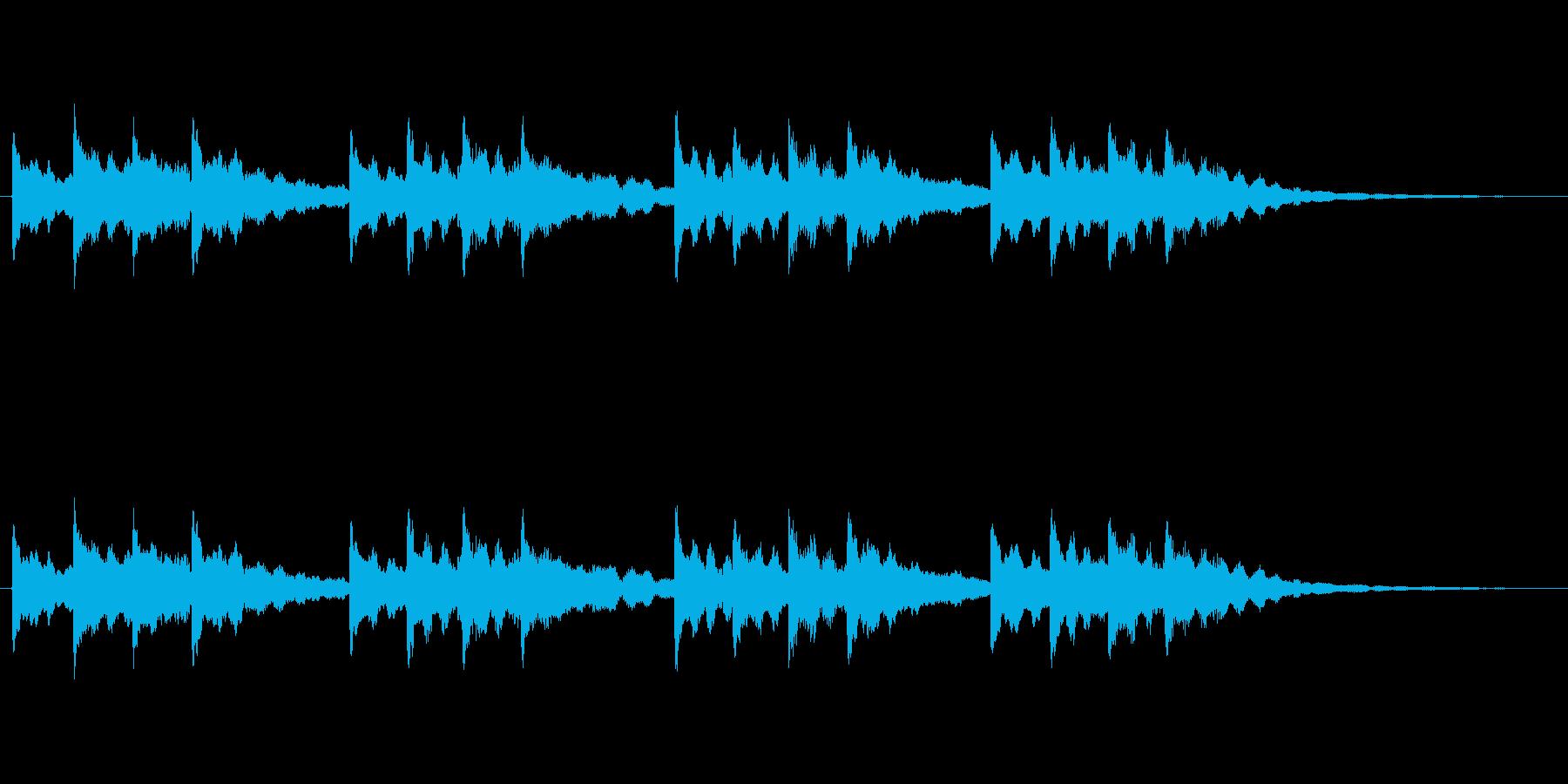 【チャイム 学校03-01】の再生済みの波形
