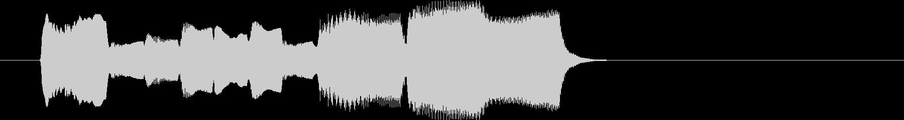 木管楽器による場面転換・アイキャッチの未再生の波形