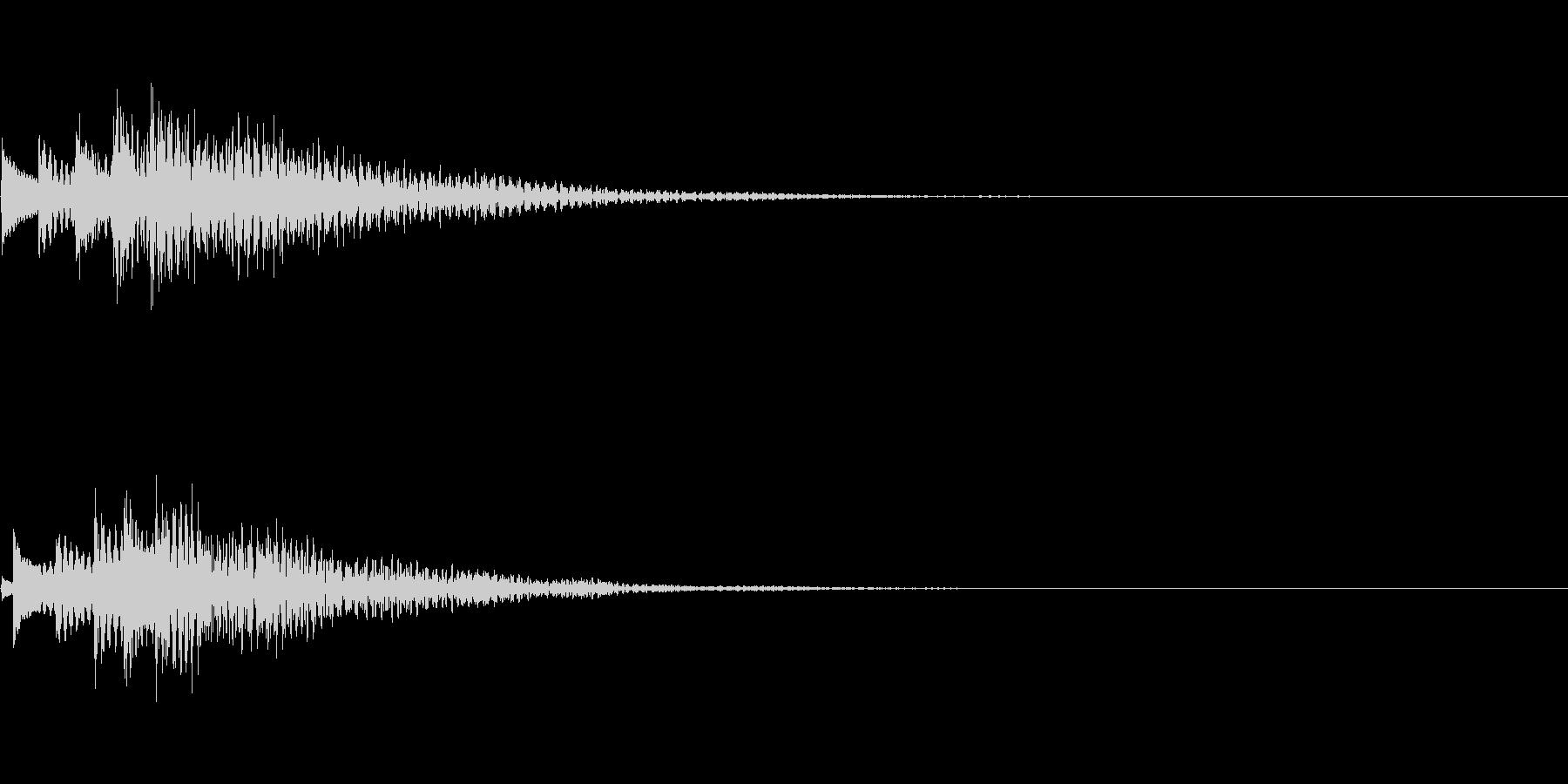 システム音13_シンセDPの未再生の波形