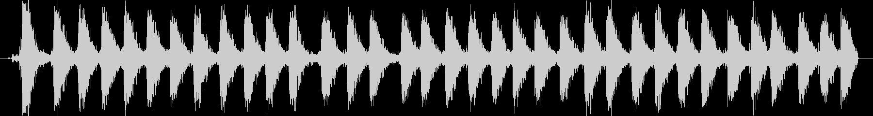 【銃声音016】マシンガンの音の未再生の波形