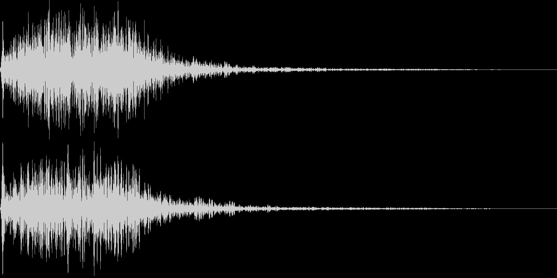吹きすさぶ風・竜巻系の魔法(中2)sの未再生の波形
