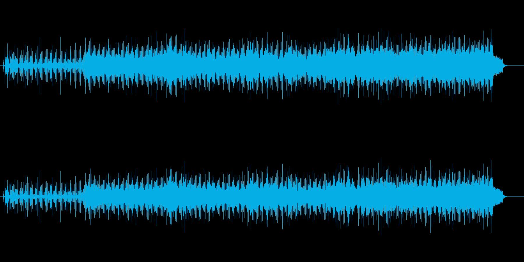 ギターサウンドが印象的なハードなナンバーの再生済みの波形