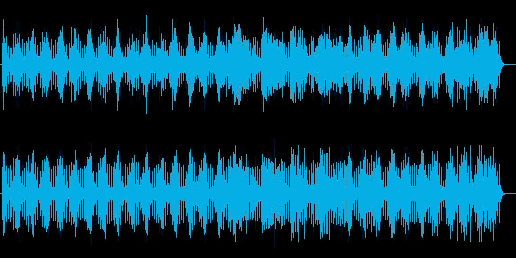 幻想的なミディアムテンポミュージックの再生済みの波形