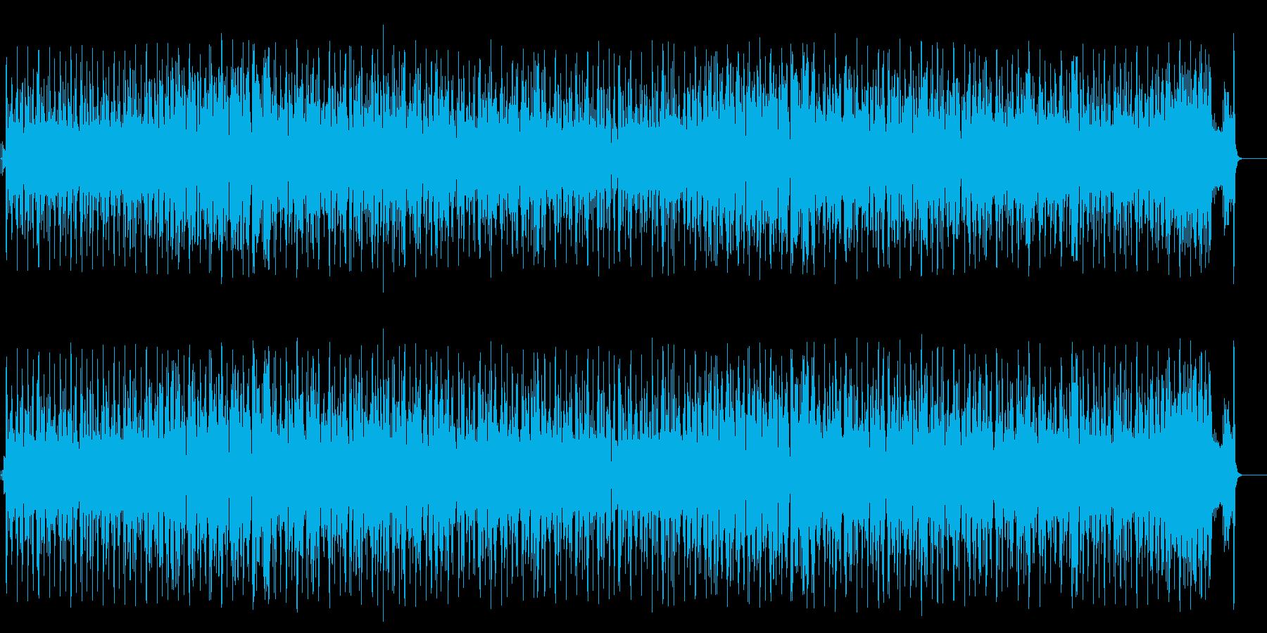 コミカルなほのぼのポップ(フルサイズ)の再生済みの波形
