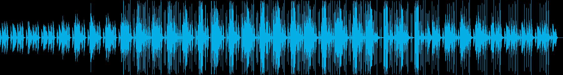 ほんわかポップでかわいらしいBGMの再生済みの波形