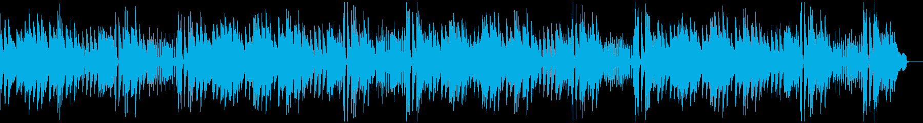 大きな古時計 ピアノ伴奏の再生済みの波形