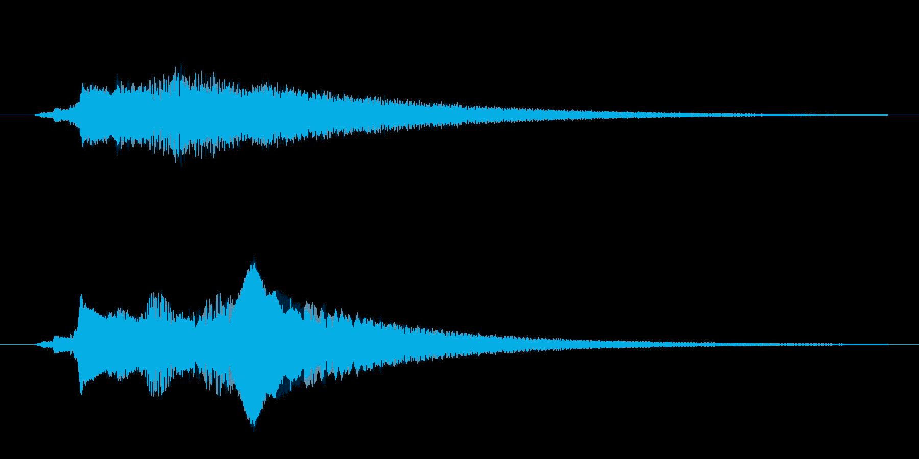 ヒューン~、ufo、急ぐ、飛んでいくの再生済みの波形