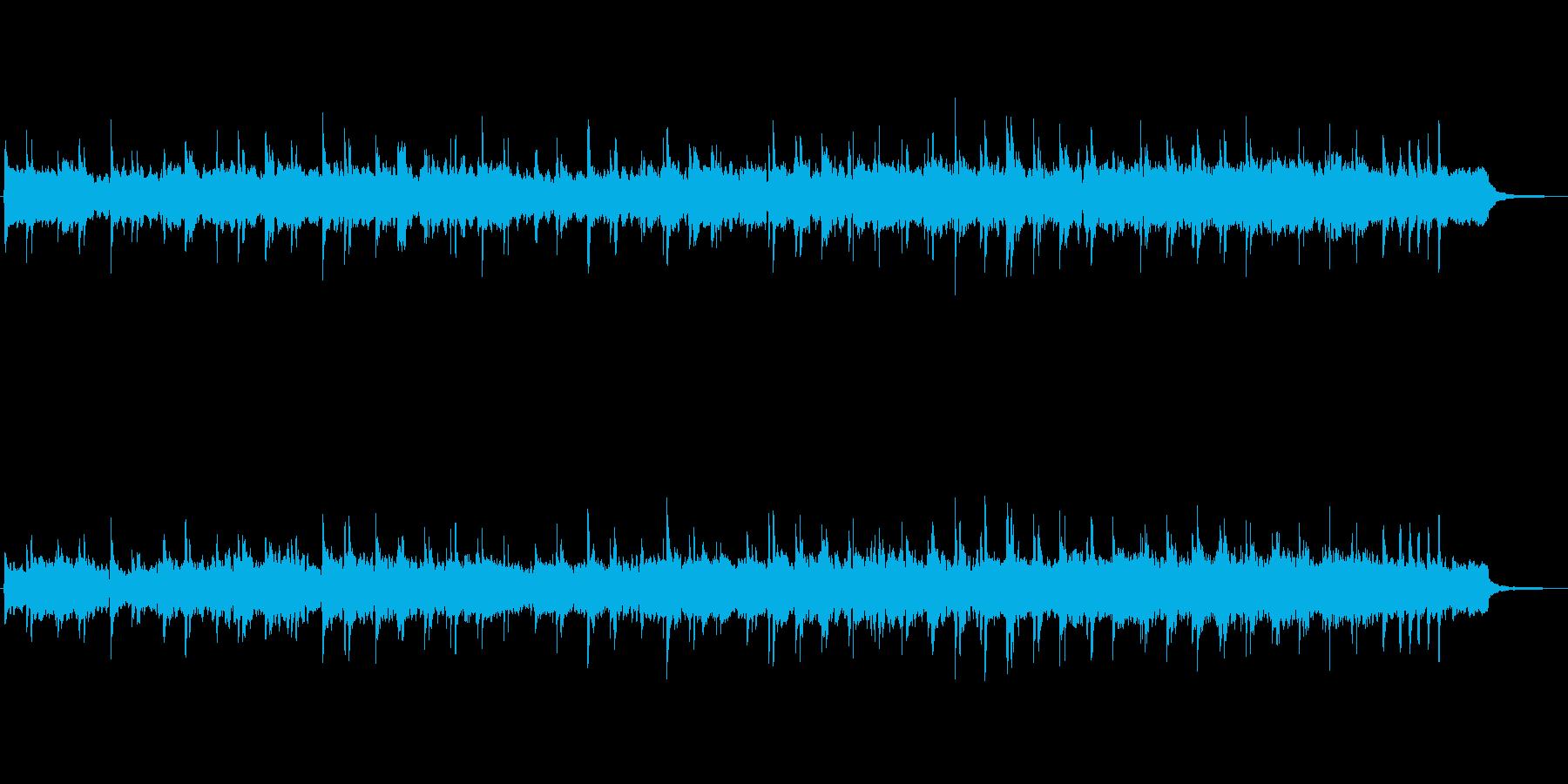 シンセとハープによる幻想的なお城の音楽の再生済みの波形