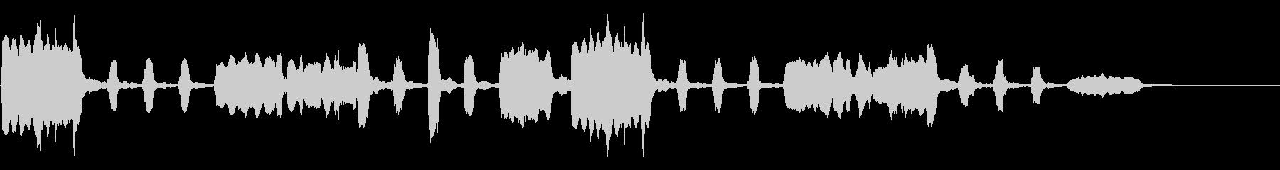 劇伴~平和なフルートの重奏 ほっこり~の未再生の波形