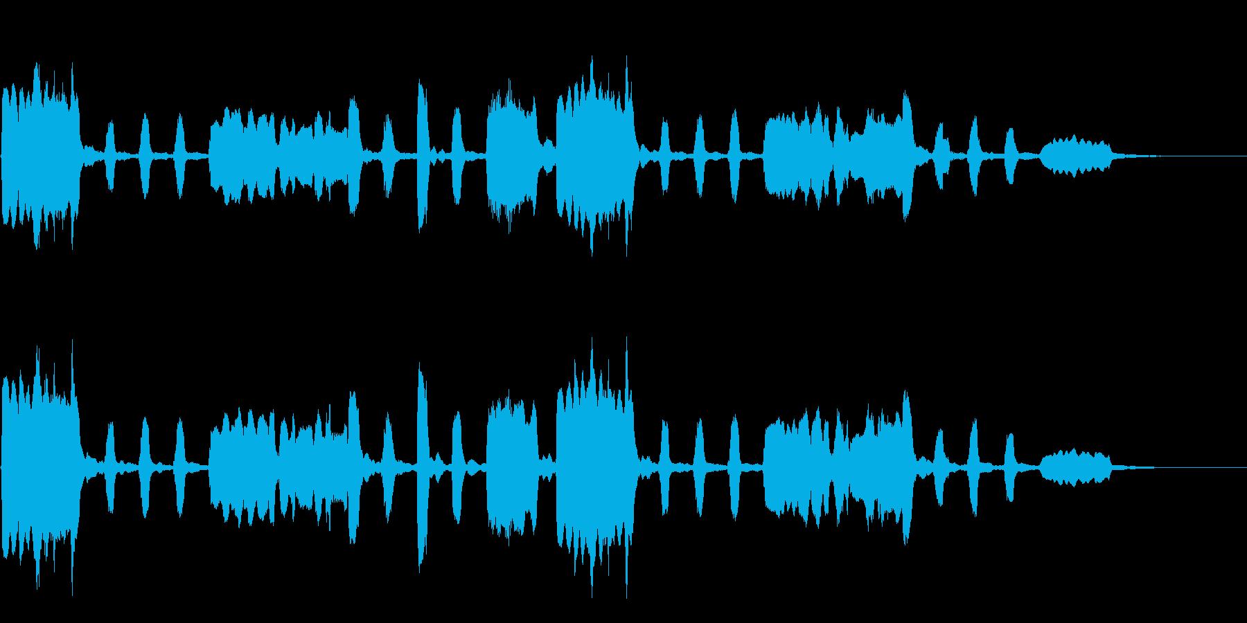 劇伴~平和なフルートの重奏 ほっこり~の再生済みの波形