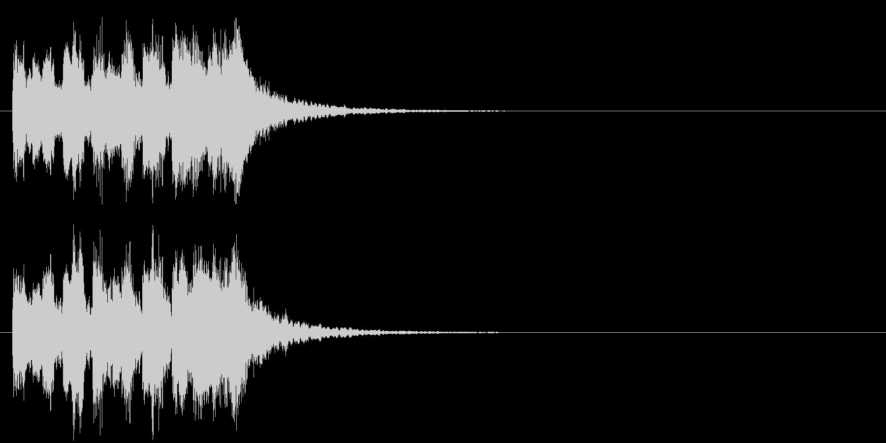 テーマ 科学 クイズ 場面転換の未再生の波形