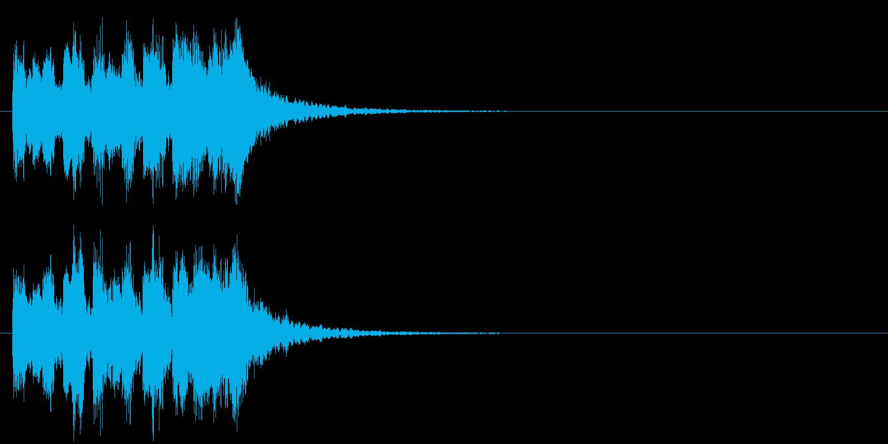 テーマ 科学 クイズ 場面転換の再生済みの波形