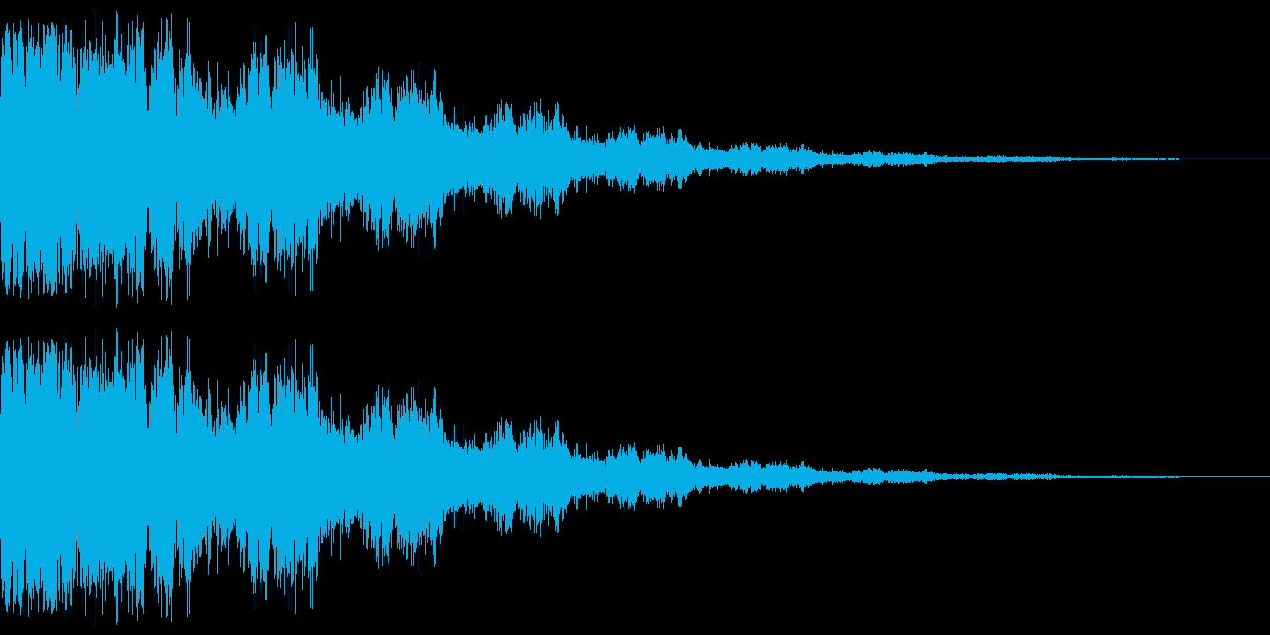 キラーン(弱め 星 光 希望)の再生済みの波形