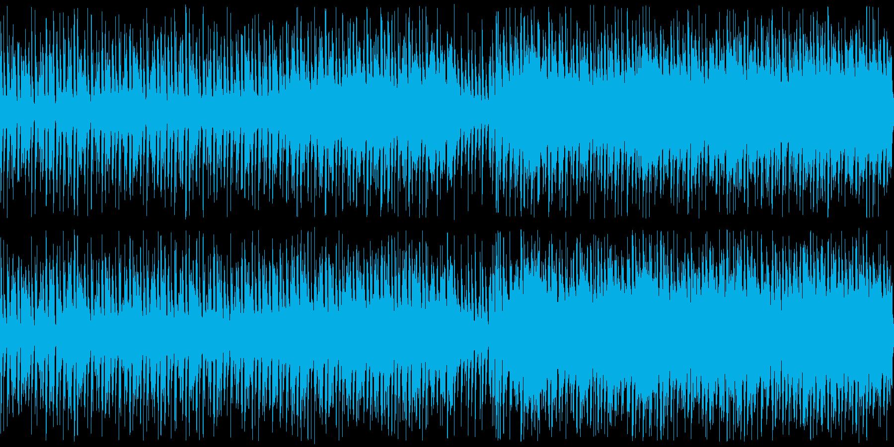 爽やかで朗らかなアンサンブルの再生済みの波形