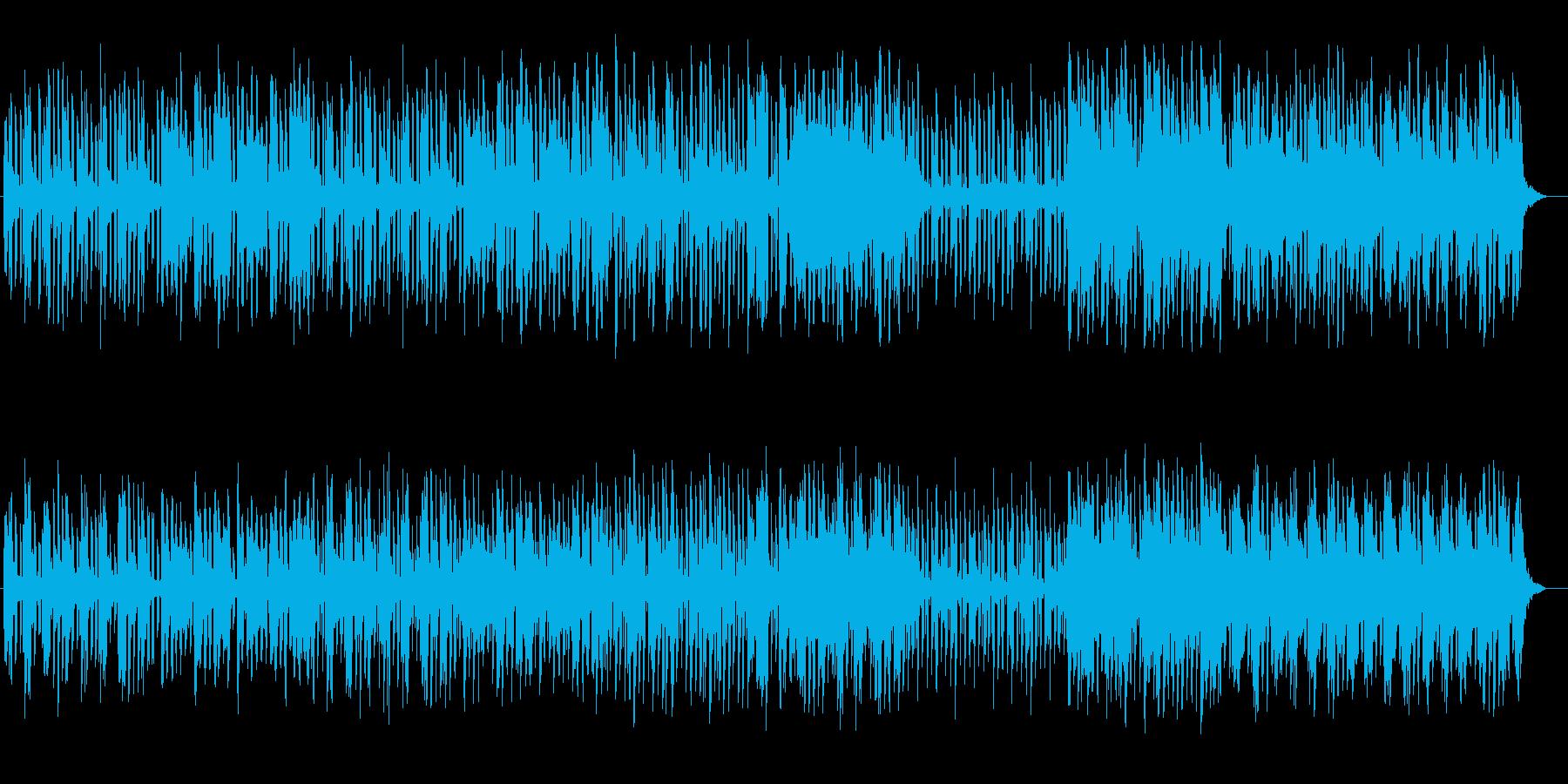 緩やかで可憐な木琴と笛のメロディーの再生済みの波形